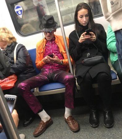 смешные люди в метро