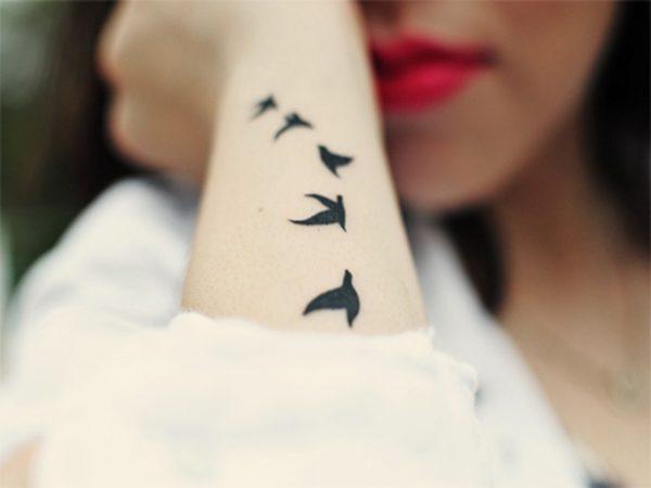 Как отговорить ребёнка от татуировки