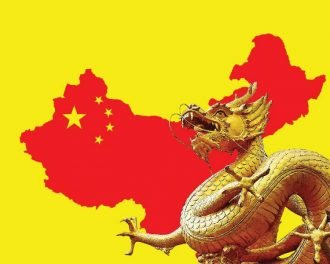 Силуэт Китая