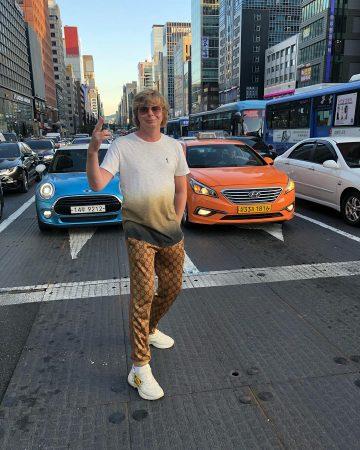Андрей Григорьев-Апполонов в Сеуле