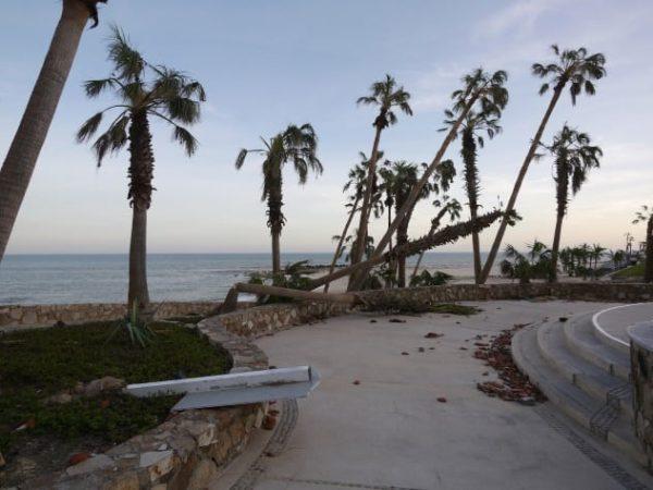 Мексиканское побережье после урагана Одиль