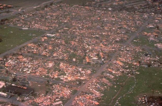 Последствия урагана Эндрю