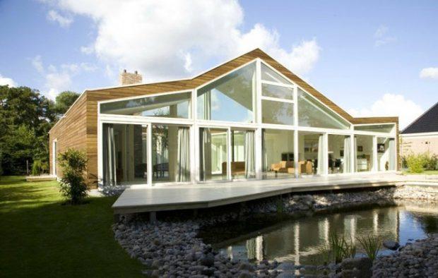 прозрачный дом фото