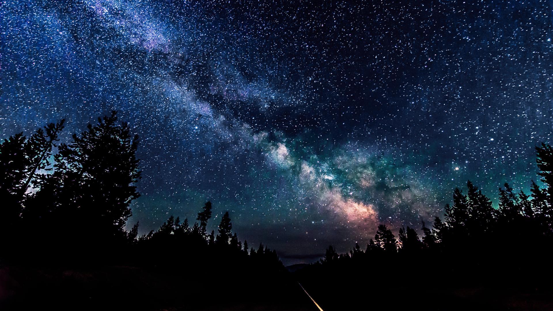 фото звездное небо ночью популярных марок