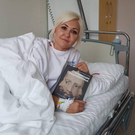 Василиса Володина в больнице