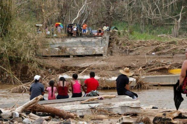 Выжившие после урагана Мария в Пуэрто Рико