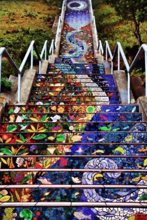 Мозаичная лестница (США)