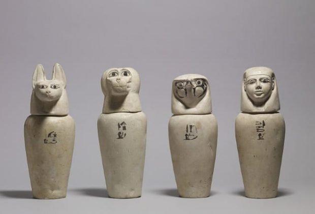 Египетские погребальные урны