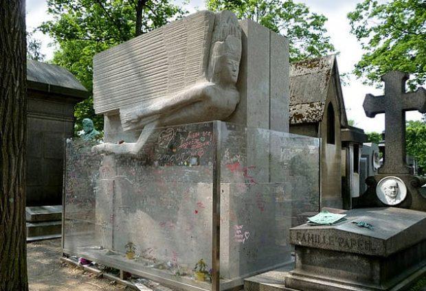 Надгробие Оскара Уайльда