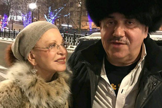 Людмила Максакова и Станислав Садальский