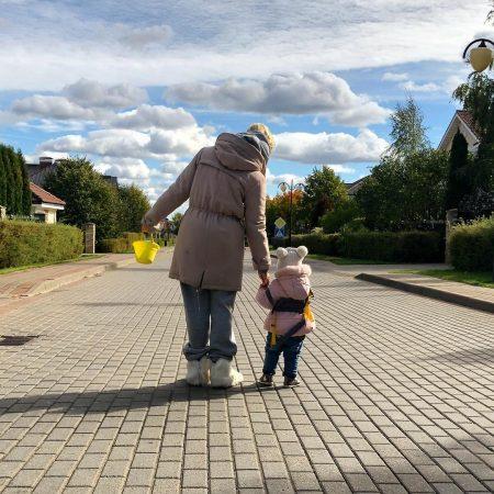 Полина Гагарина и её дочь Мия