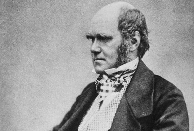 Портрет Дарвина в зрелые годы