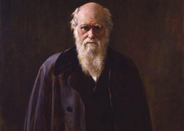 Дарвин в пожилом возрасте