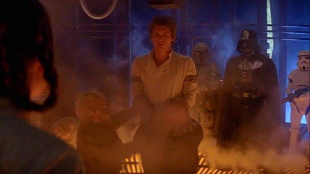 Кадр из «Звёздных войн»