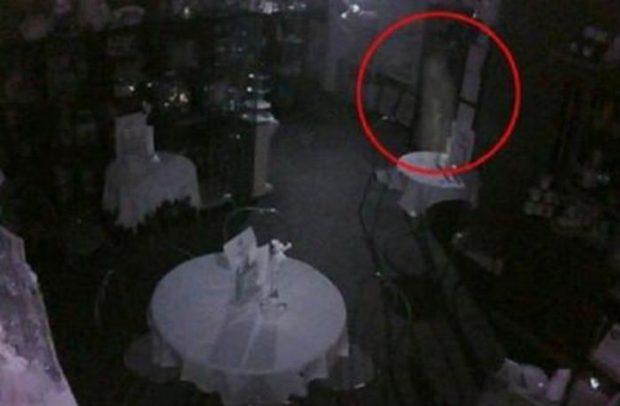 Мистическое фото призрака в чайной