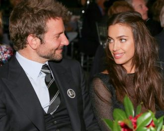 Bradley Cooper and Irina Shayk