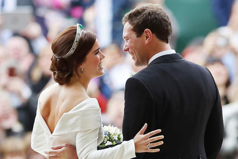 Eugenie and Jack Brooksbank