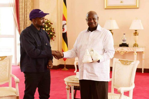 Канье Уэст и Йовери Мусевени