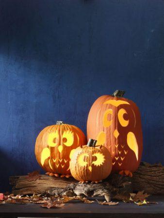 Три тыквы для Хэллоуина