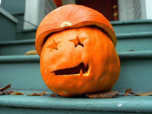 Забавная тыква для вечеринки на Хэллоуин