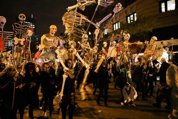 Парад на Хэллоуин