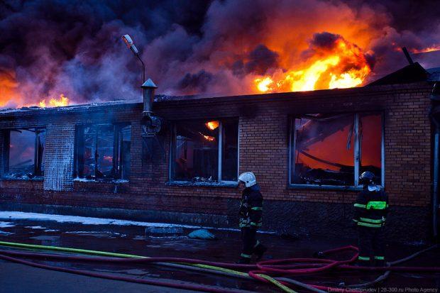 Пожар в Швеции