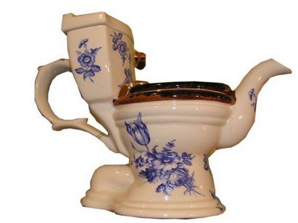 Чайник-унитаз