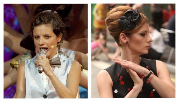 Наталья Еприкян 10 лет назад и сейчас