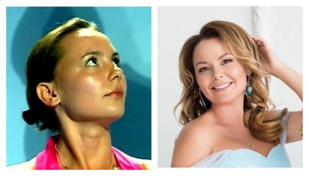 Татьяна Морозова 10 лет назад и сейчас