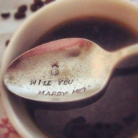 Предложение за чашкой кофе