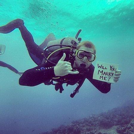 Предложение под водой