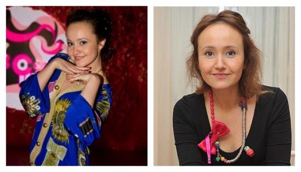 Екатерина Баранова из Камеди Вумен 10 лет назад и сейчас