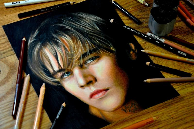 Realistic pencil drawings