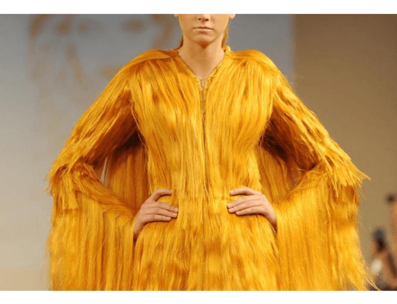 мода из волос