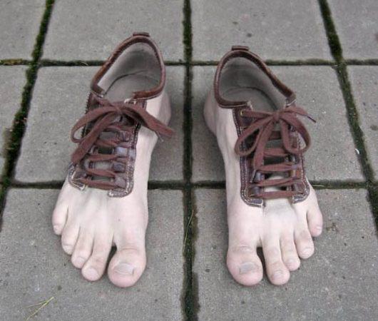 Ботинки как ноги