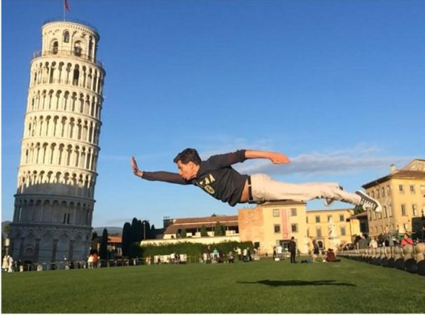 Супермен в Италии