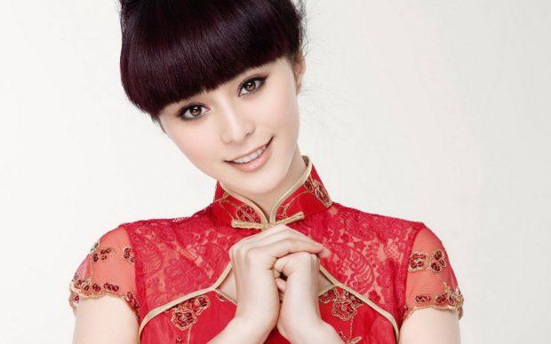 Юная китаянка