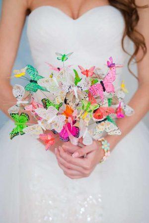 Букет с бабочками