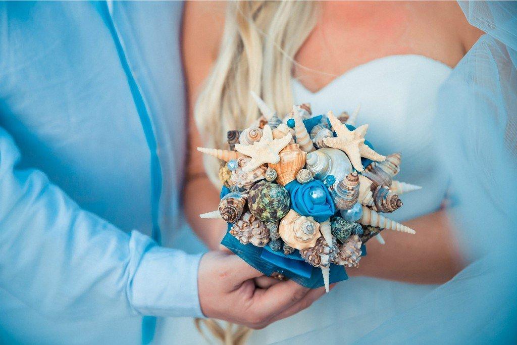 Букетик, морские букеты для невесты