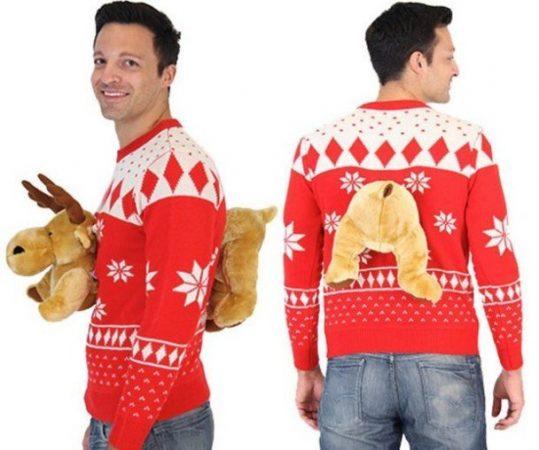 Веселый свитер