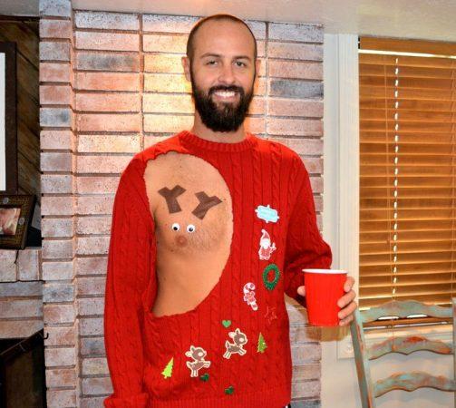 Пикантный свитер
