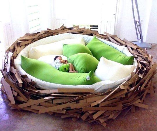 Кровать-гнездышко