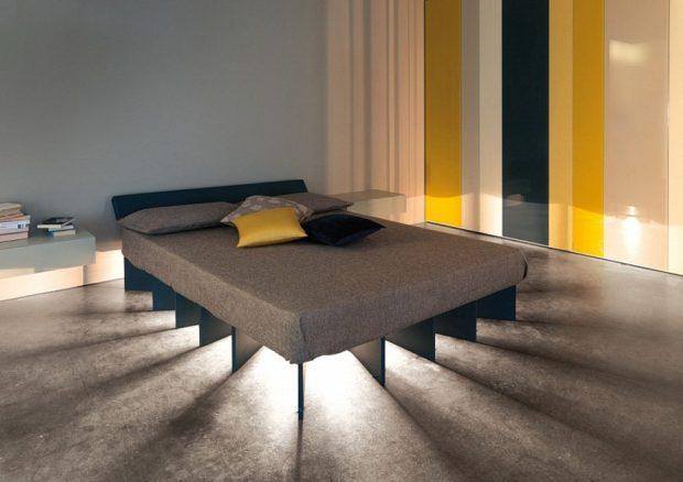 Кровать с подсветкой против монстров
