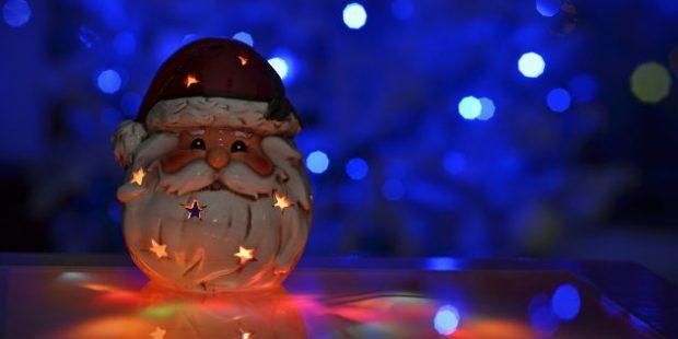 Свеча-Дед Мороз