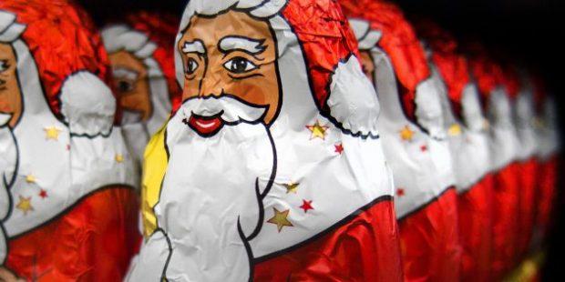 Шоколадный Дед Мороз