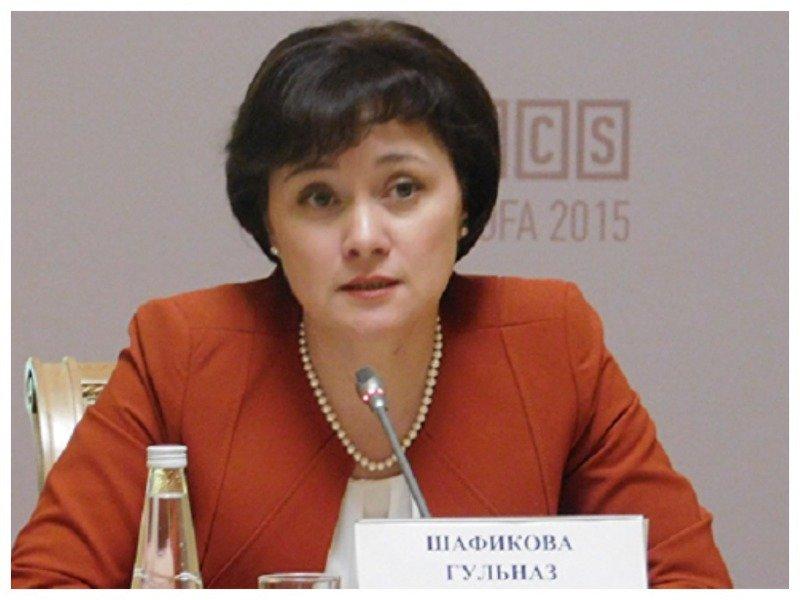 Гульназ Шафикову