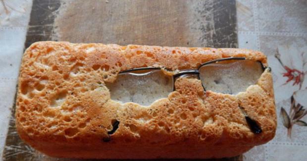 Пекарь потерял очки