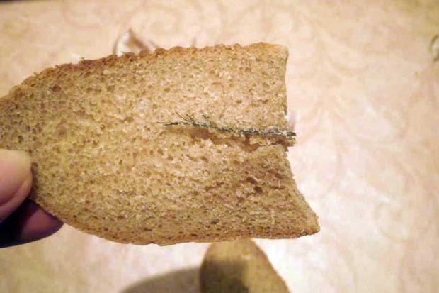 Проволока в хлебе