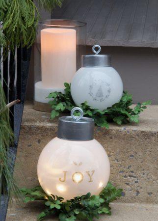 новогодний фонарь