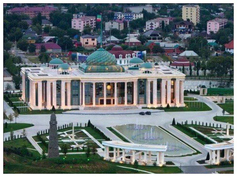 Дворец кадырова